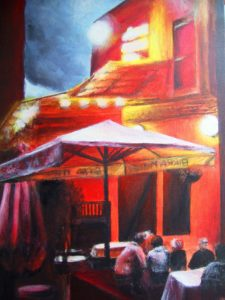 Islington Italian Restaurant Painting