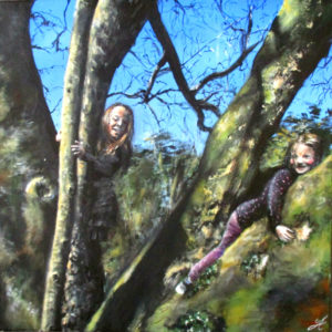 Babes in the Wood (SOLD)