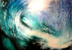 Wave painting