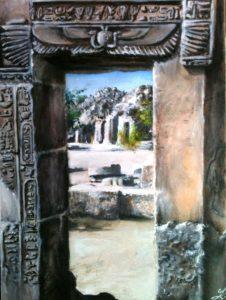 Egypt Philae painting