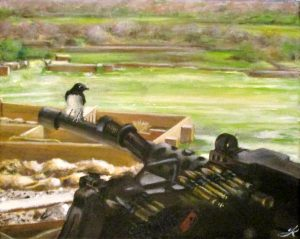 bird Afghanistan war gun soldier