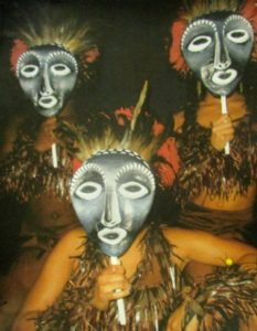 African Masks in performance