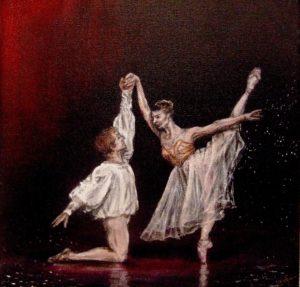 Ballet duet painting