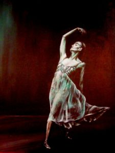Ballet solo painting