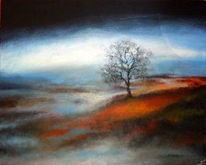 Moorland painting
