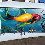mural falmouth cornwall plastic free environment environmental conservation oceans wildlife