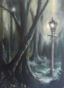 """Narnia"" (Acrylic on Canvas) £180. Also available as greetings cards and limited prints, edition of 25."